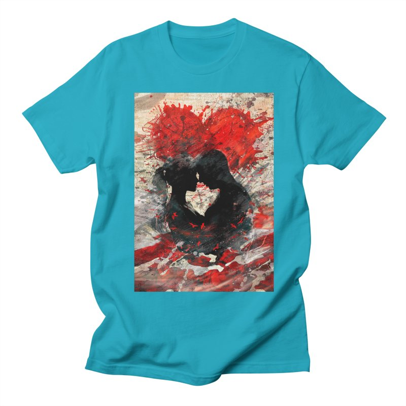 Artistic - Forever together Men's T-shirt by Abstract designs