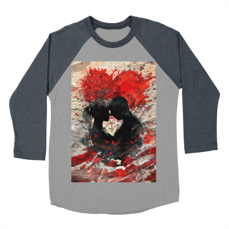 Artistic - Forever together Men's Baseball Triblend T-Shirt by Abstract designs