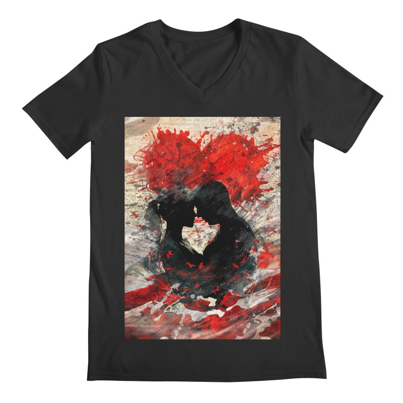 Artistic - Forever together Men's V-Neck by Abstract designs