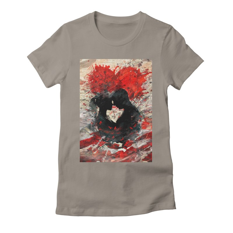 Artistic - Forever together Women's Fitted T-Shirt by Abstract designs