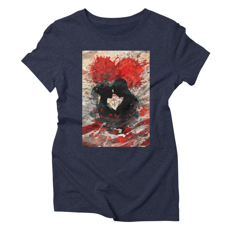 Artistic - Forever together Women's Triblend T-shirt by Abstract designs