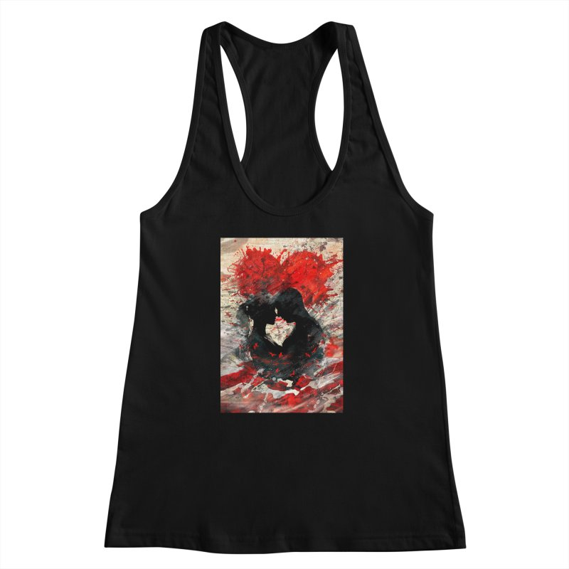 Artistic - Forever together Women's Racerback Tank by Abstract designs