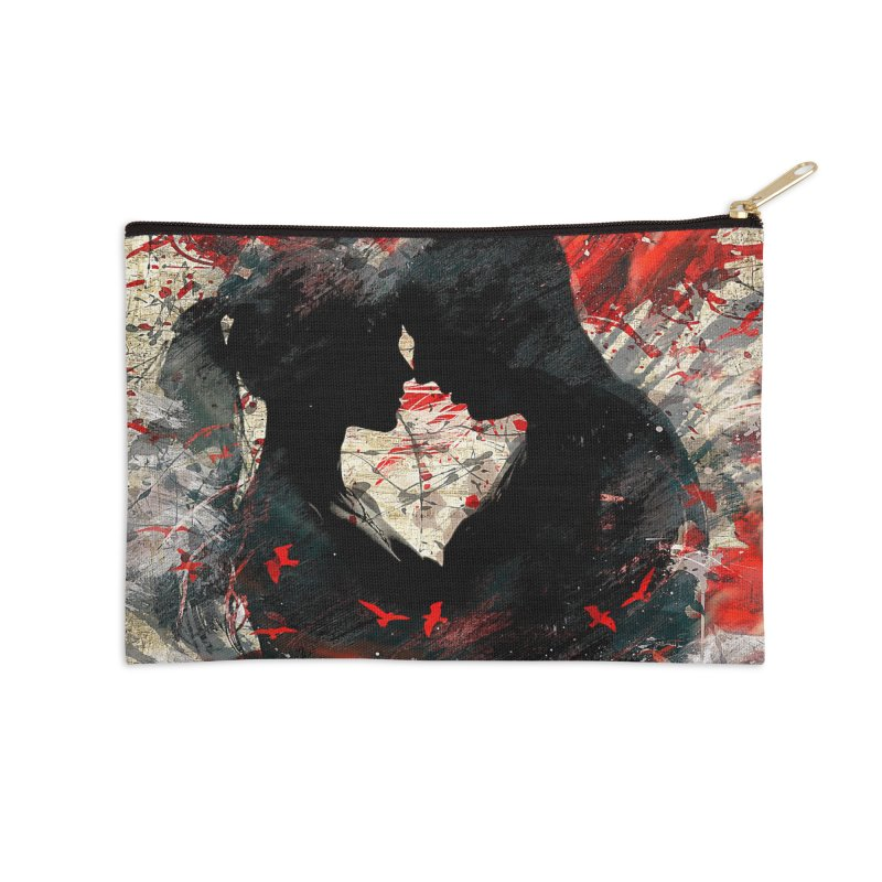 Artistic - Forever together Accessories Zip Pouch by Abstract designs