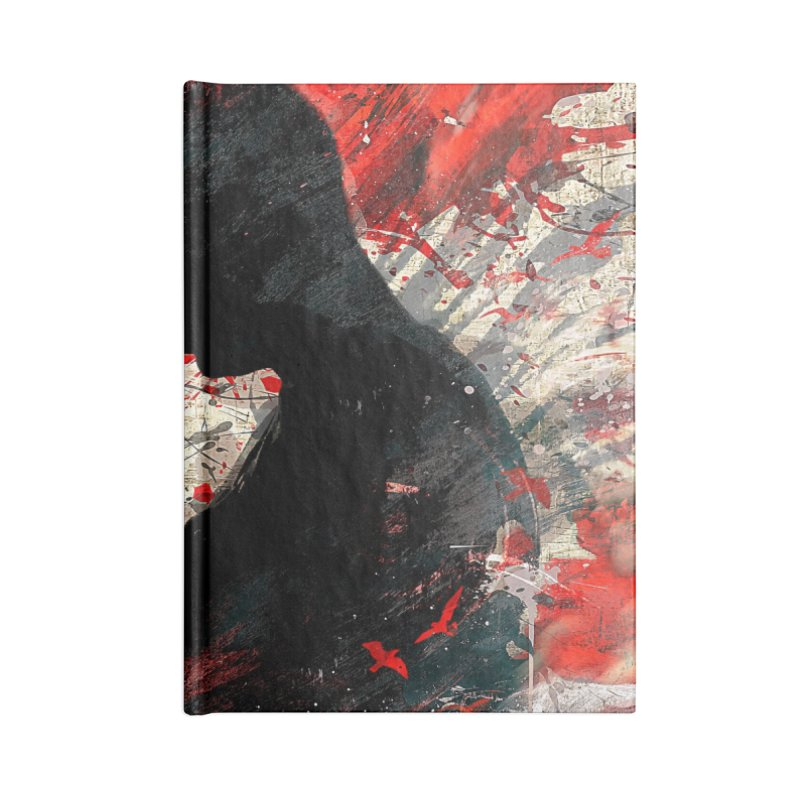 Artistic - Forever together Accessories Notebook by Abstract designs