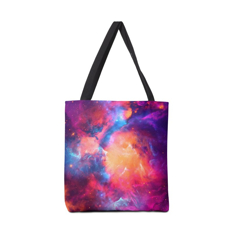 Artistic XCI - Nebula V Accessories Bag by Abstract designs