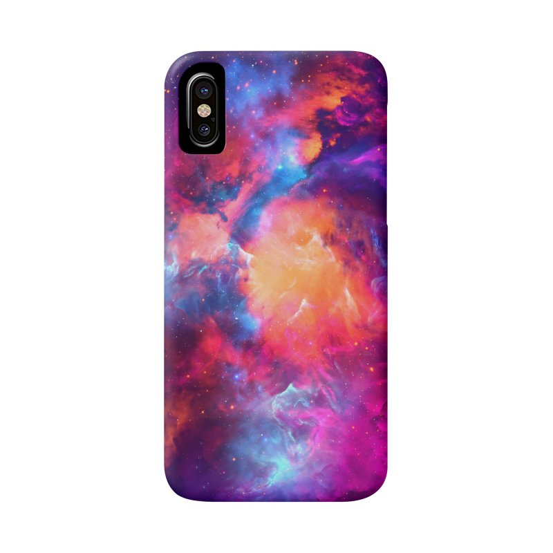 Artistic XCI - Nebula V Accessories Phone Case by Abstract designs