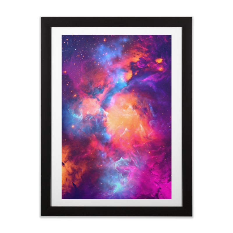 Artistic XCI - Nebula V Home Framed Fine Art Print by Abstract designs