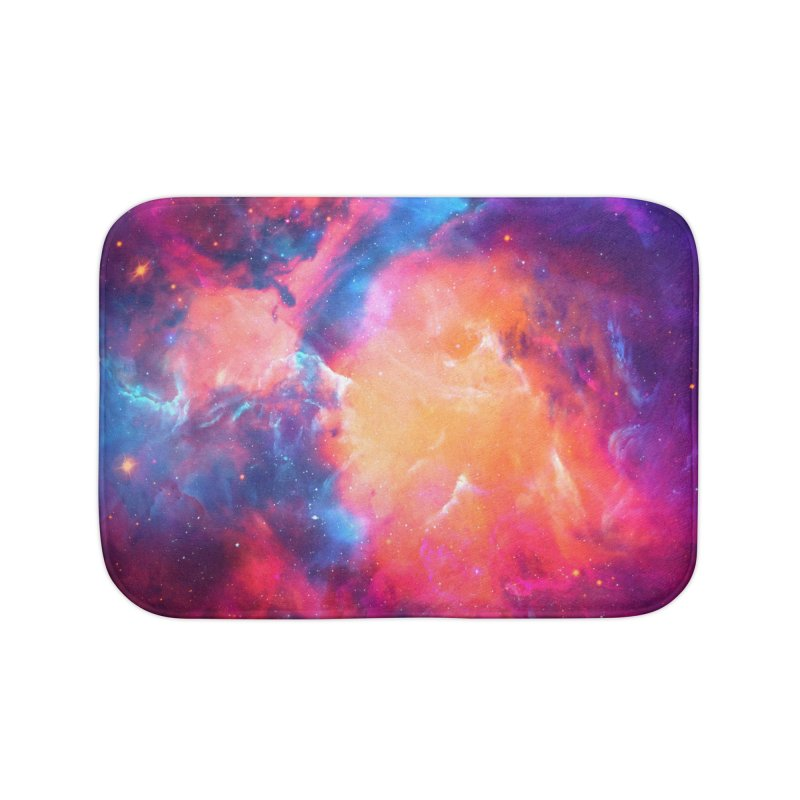 Artistic XCI - Nebula V Home Bath Mat by Abstract designs