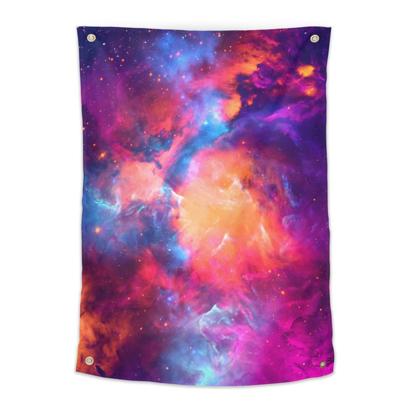 Artistic XCI - Nebula V Home Tapestry by Abstract designs