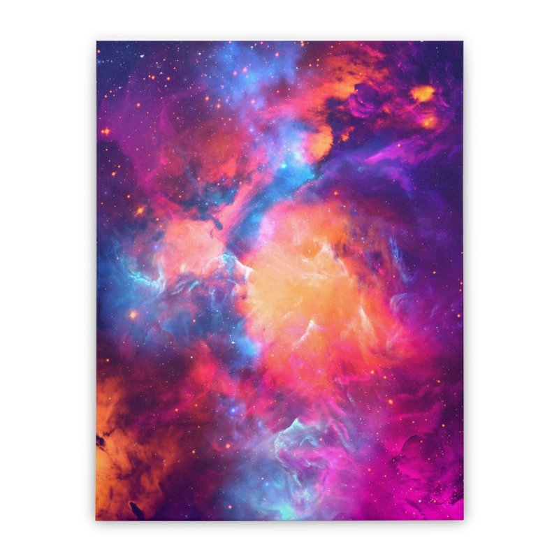 Artistic XCI - Nebula V Home Stretched Canvas by Abstract designs
