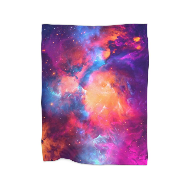 Artistic XCI - Nebula V Home Blanket by Abstract designs