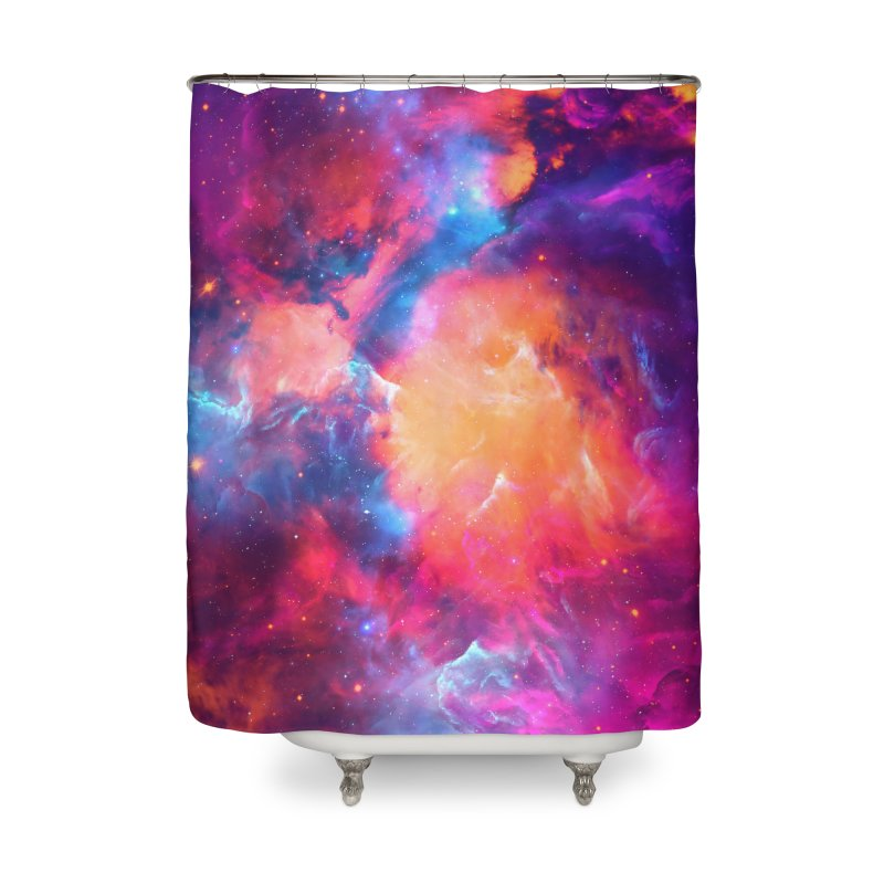 Artistic XCI - Nebula V Home Shower Curtain by Abstract designs