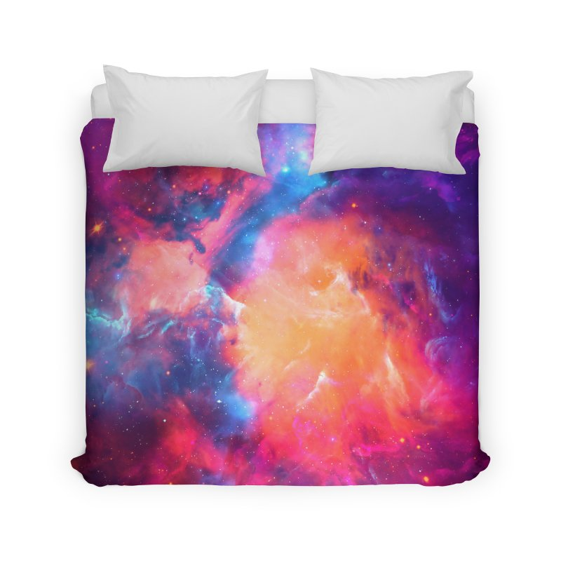Artistic XCI - Nebula V Home Duvet by Abstract designs