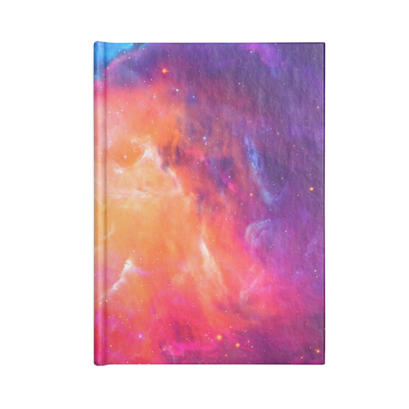 Artistic XCI - Nebula V Accessories Notebook by Abstract designs