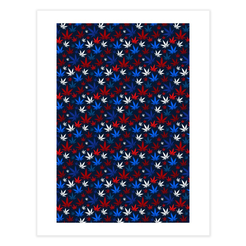 Pattern XIV Home Fine Art Print by Abstract designs