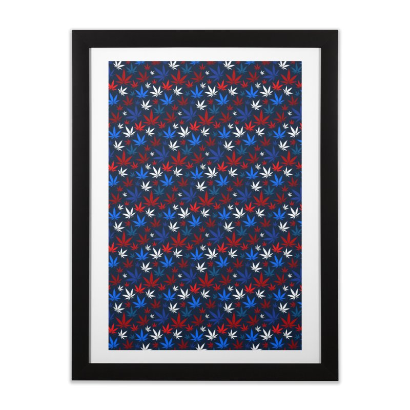 Pattern XIV Home Framed Fine Art Print by Abstract designs