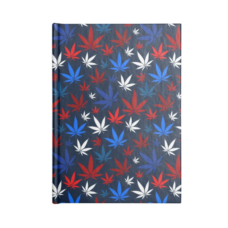 Pattern XIV Accessories Notebook by Abstract designs