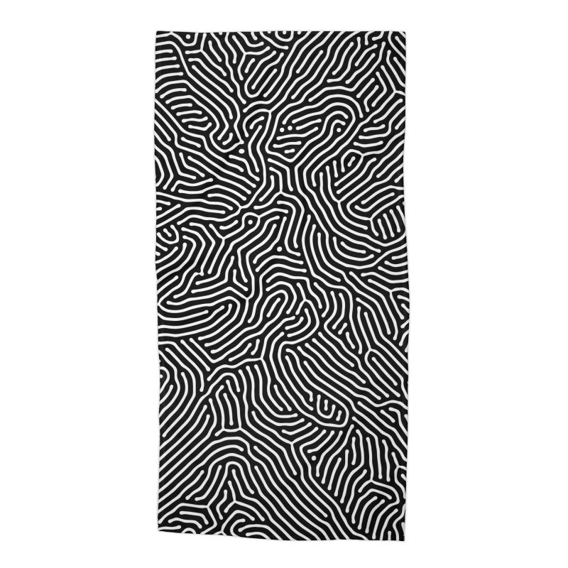 Pattern II Accessories Beach Towel by Abstract designs
