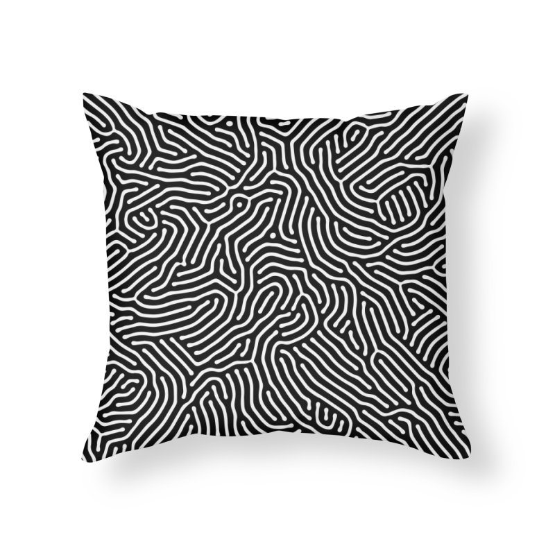 Pattern II Home Throw Pillow by Abstract designs
