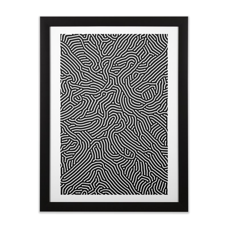 Pattern II Home Framed Fine Art Print by Abstract designs