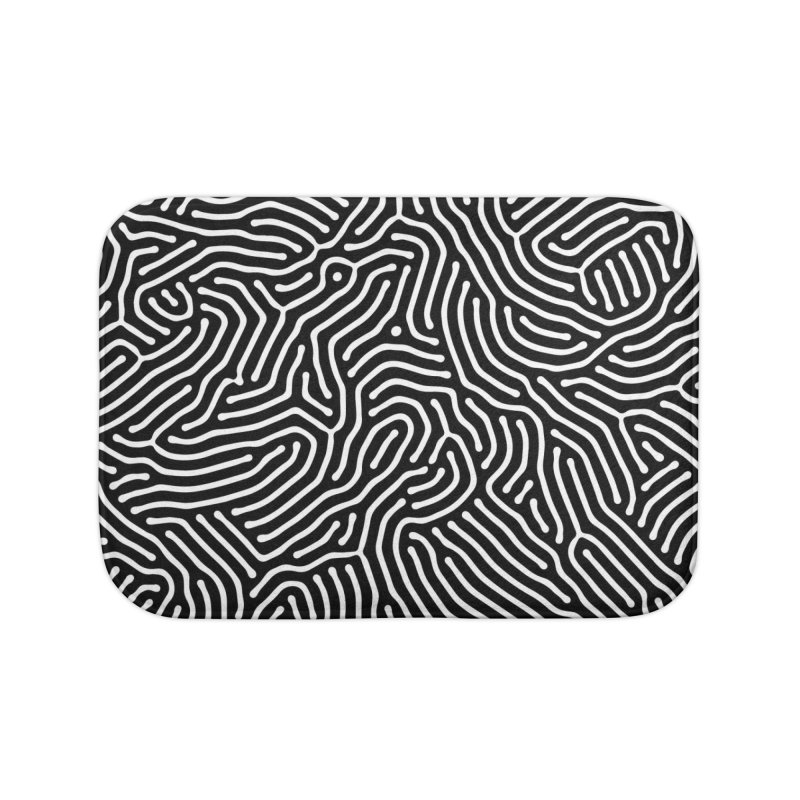 Pattern II Home Bath Mat by Abstract designs