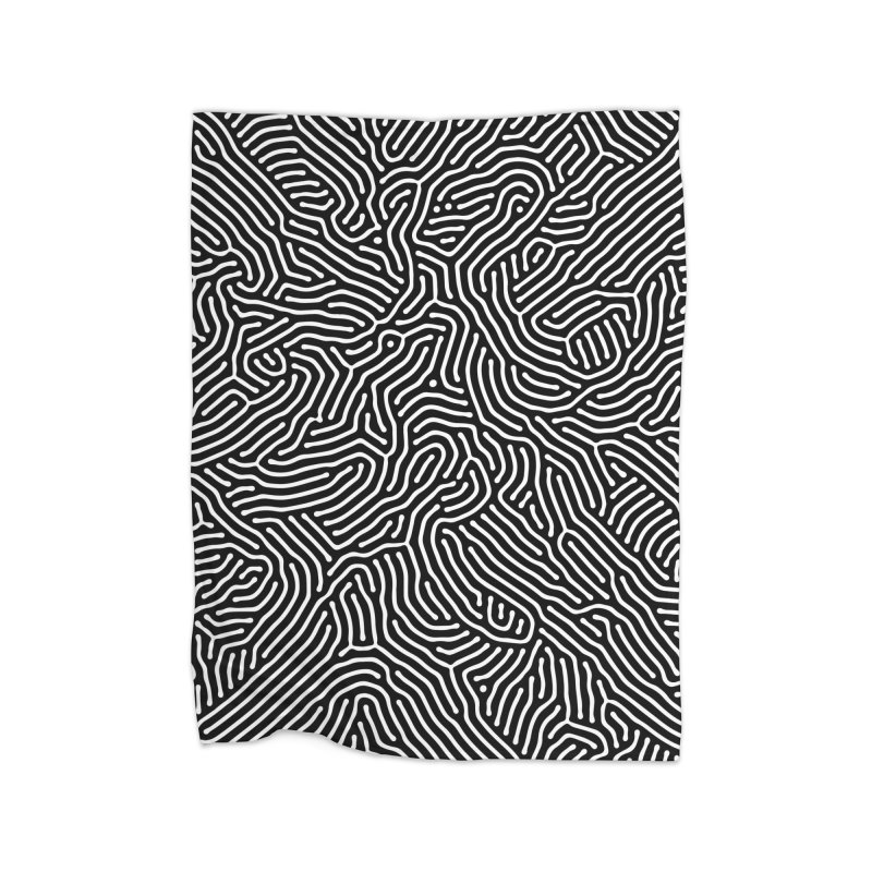 Pattern II Home Blanket by Abstract designs