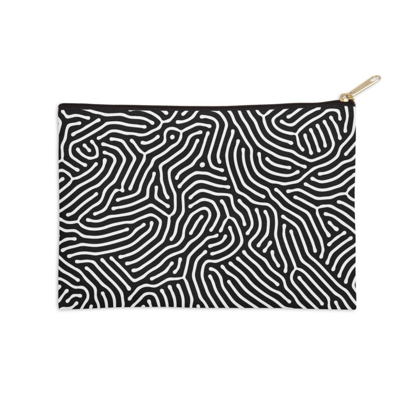 Pattern II Accessories Zip Pouch by Abstract designs
