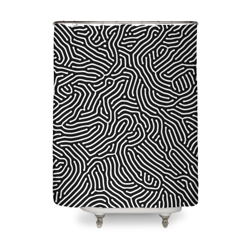 Pattern II Home Shower Curtain by Abstract designs