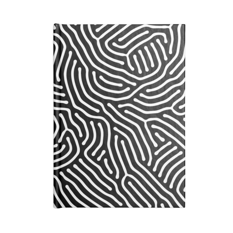 Pattern II Accessories Notebook by Abstract designs