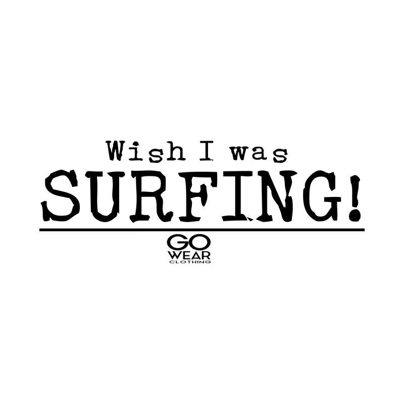 Wish I was Surfing Lights Women's Tank by tmographics custom designs