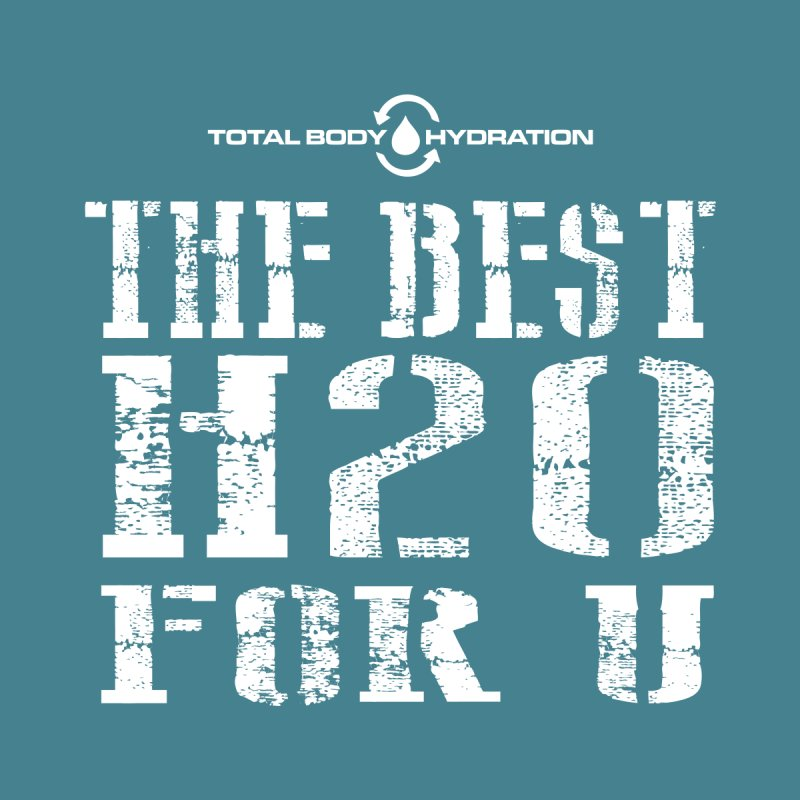 Best H2O For You Tee Dark Men's T-Shirt by tmographics custom designs