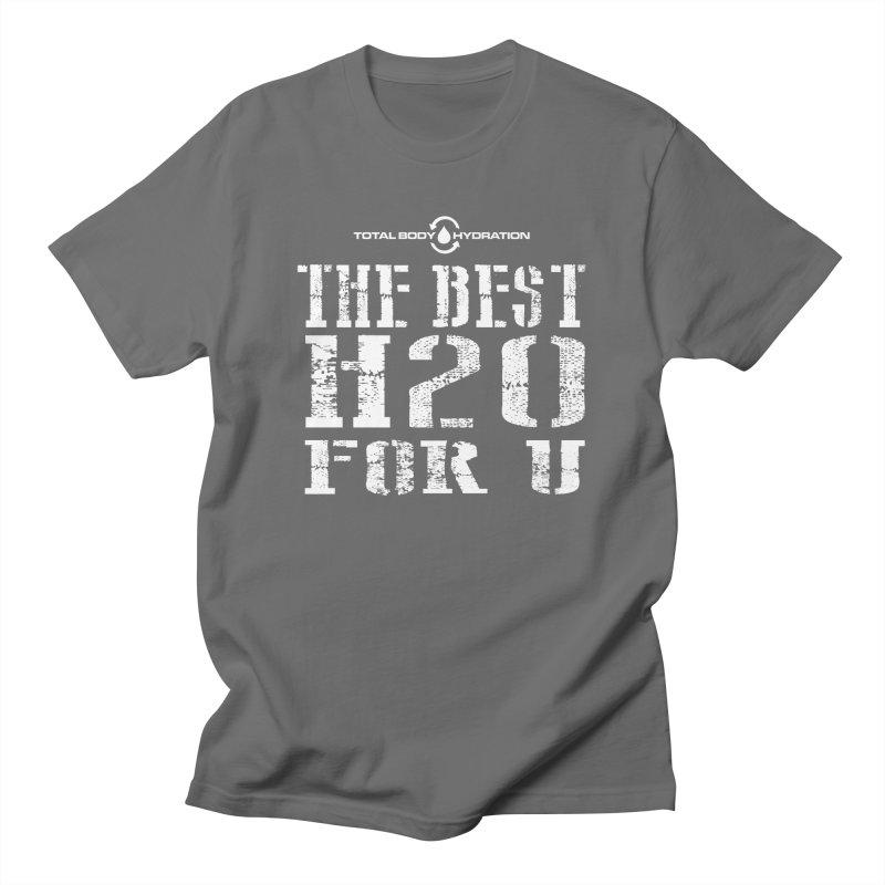 Best H2O For You Tee Dark Men's T-Shirt by tmographics custom designs