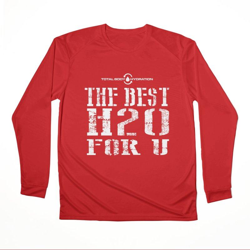 Best H2O For You Tee Dark Men's Longsleeve T-Shirt by tmographics custom designs