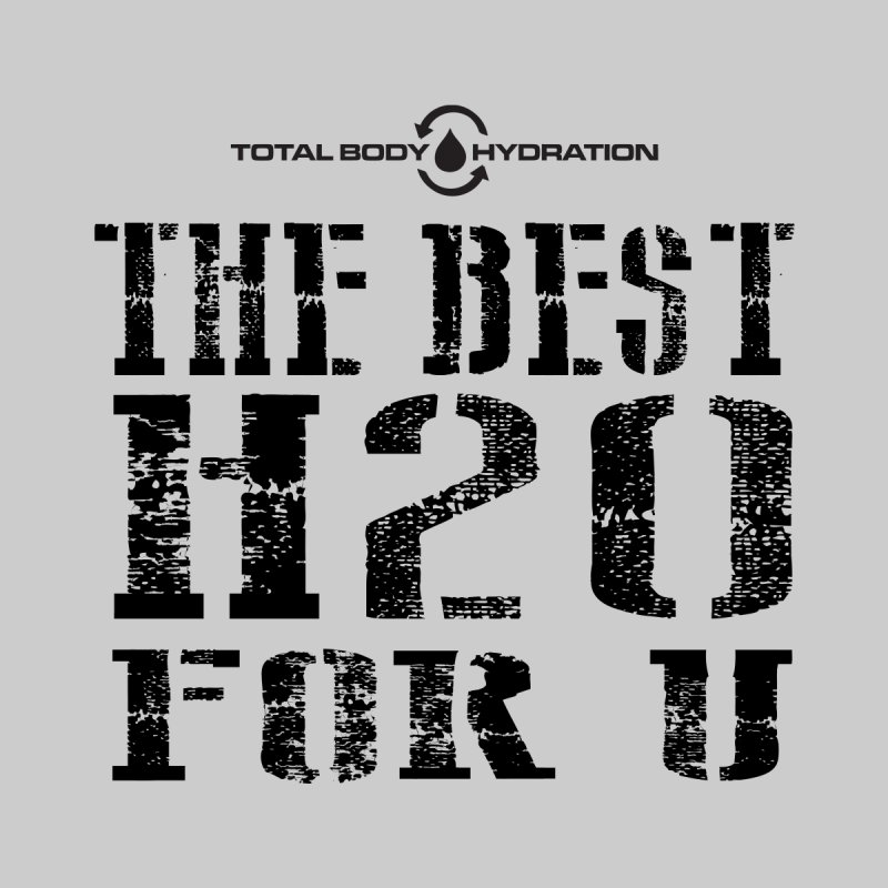 Best H2O For You Tee Lights Men's T-Shirt by tmographics custom designs