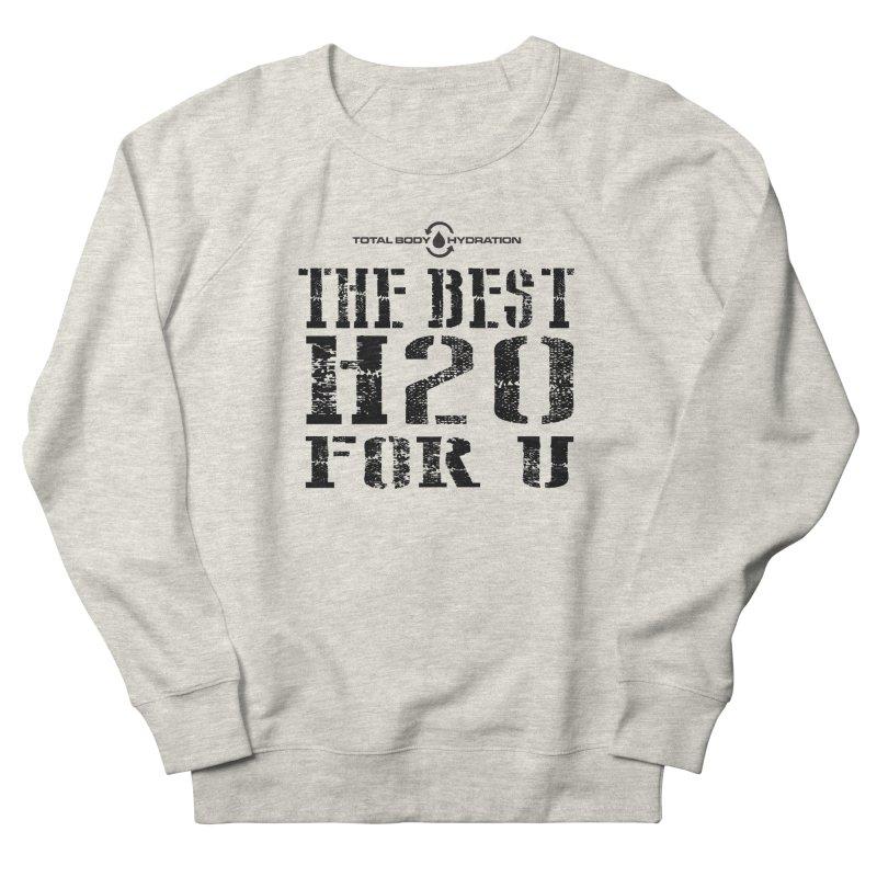 Best H2O For You Tee Lights Men's Sweatshirt by tmographics custom designs