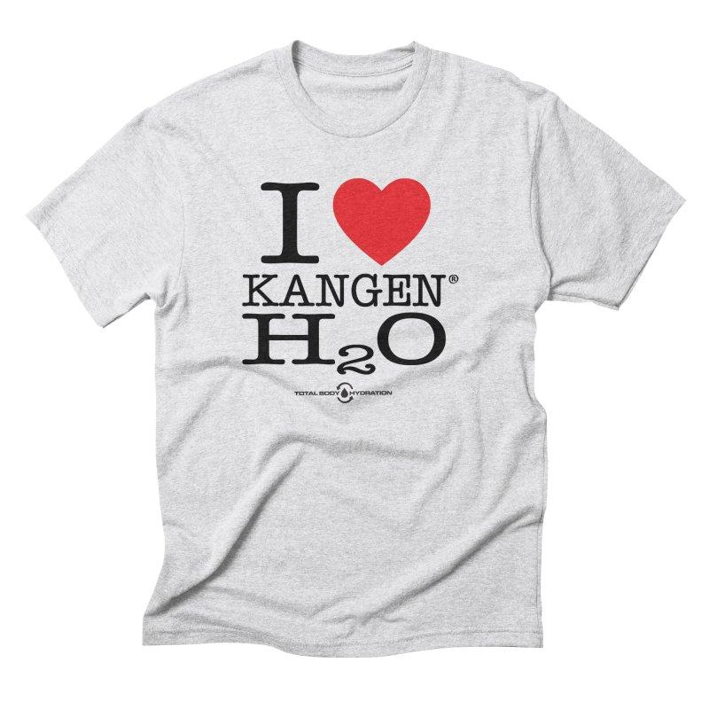 I Love Kangen H2O Tee Men's T-Shirt by tmographics custom designs
