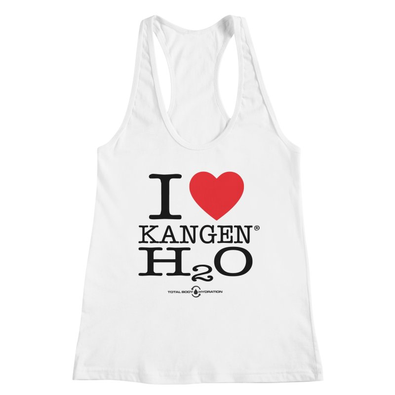 I Love Kangen H2O Tee Women's Tank by tmographics custom designs