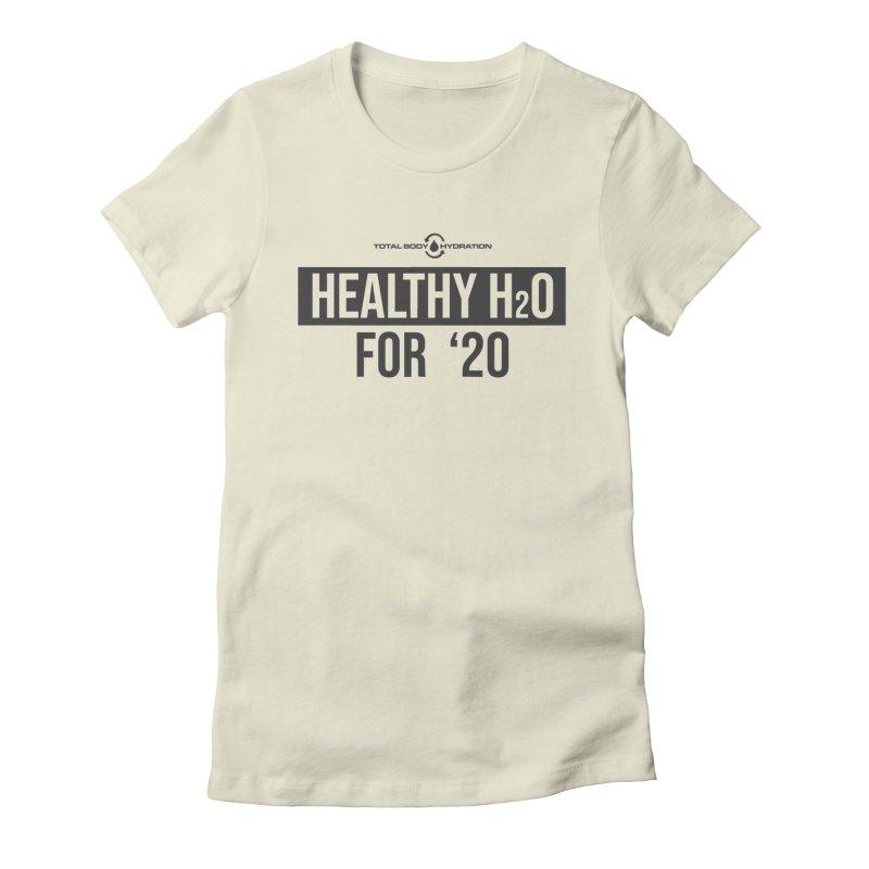 H2O for '20 Tee Lights Women's T-Shirt by tmographics custom designs