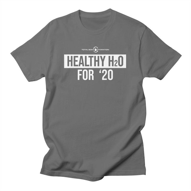 H2O for '20 Tee Darks Men's T-Shirt by tmographics custom designs