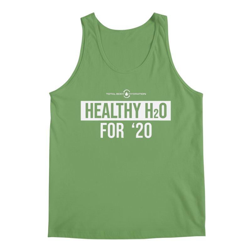 H2O for '20 Tee Darks Men's Tank by tmographics custom designs