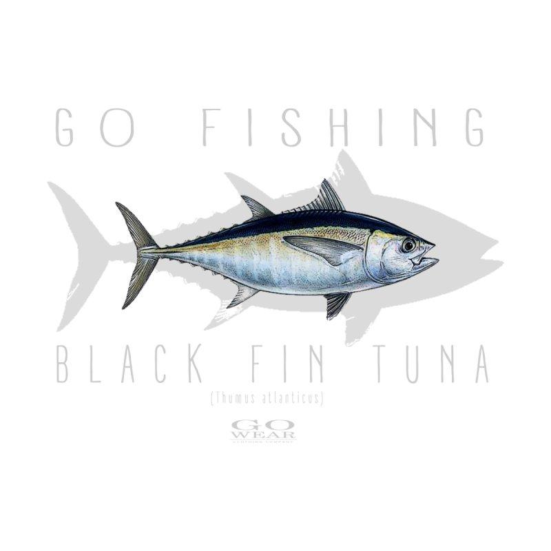 GO Wear - Go Fishing Tuna Tee Men's T-Shirt by tmographics custom designs