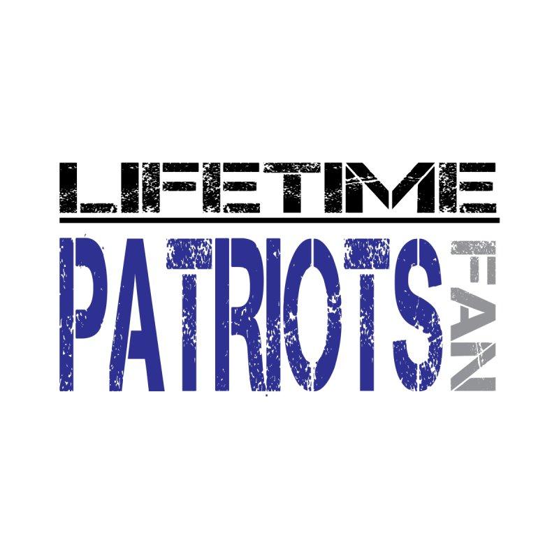 Patriots Life Tee Lights Kids T-Shirt by tmographics custom designs
