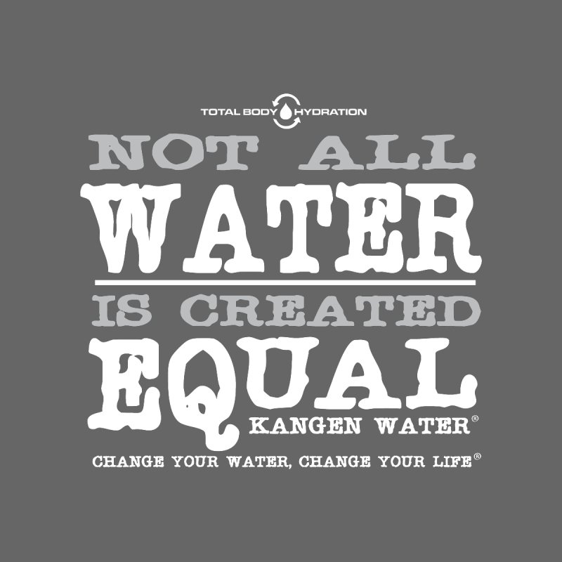 Equal Water Tee Men's T-Shirt by tmographics custom designs