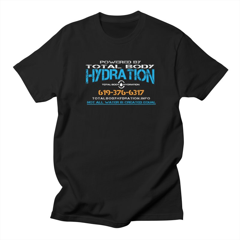 Total Body Hydration - Powered by TBH Men's T-Shirt by tmographics custom designs