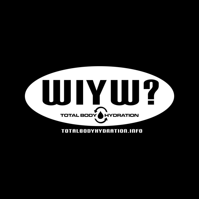 TBH WIYW? Oval Tee Men's T-Shirt by tmographics custom designs