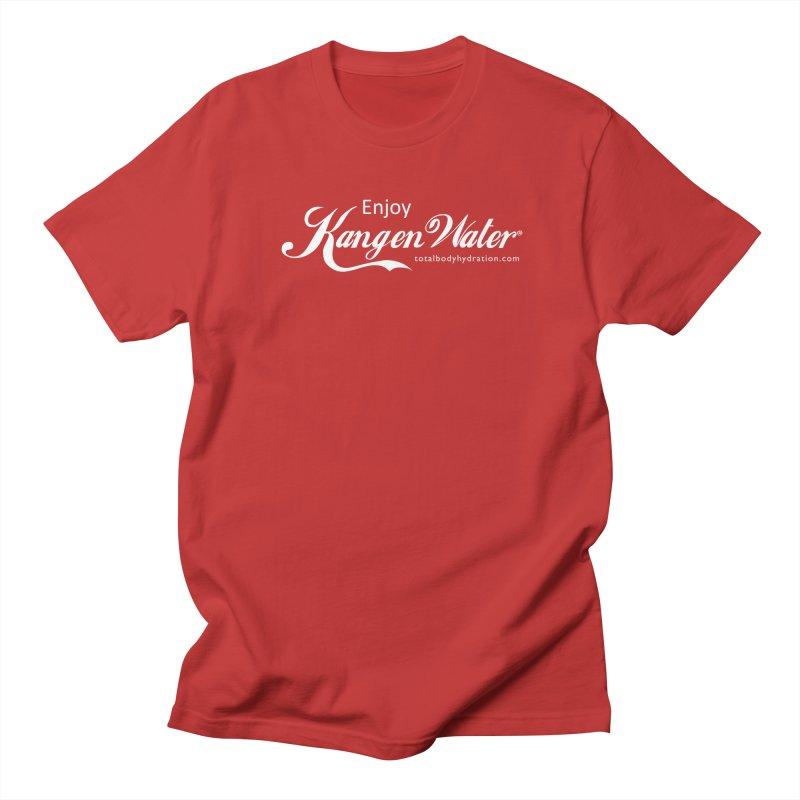 Enjoy Kangen Water Tee Men's T-Shirt by tmographics custom designs