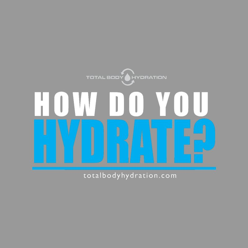 How Do You Hydrate Tee Men's T-Shirt by tmographics custom designs