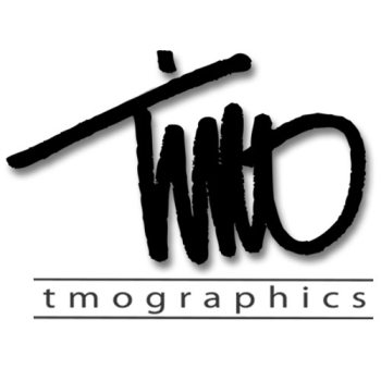 tmographics custom designs Logo