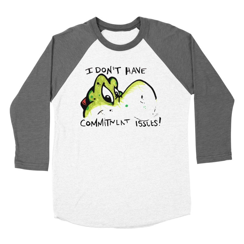 Issues Women's Baseball Triblend Longsleeve T-Shirt by tmoney's Artist Shop