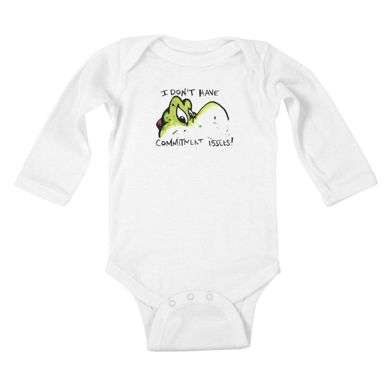 Issues Kids Baby Longsleeve Bodysuit by tmoney's Artist Shop